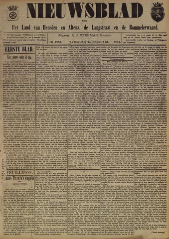 Nieuwsblad het land van Heusden en Altena de Langstraat en de Bommelerwaard 1894-02-24