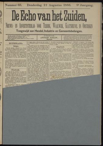 Echo van het Zuiden 1886-08-12