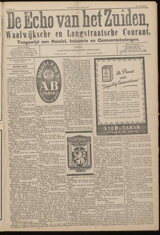 Echo van het Zuiden 1927-10-29