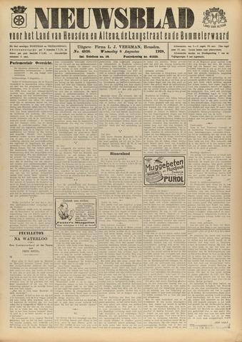 Nieuwsblad het land van Heusden en Altena de Langstraat en de Bommelerwaard 1928-08-08