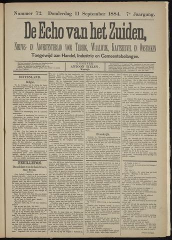 Echo van het Zuiden 1884-09-11