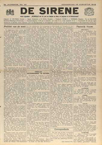 De Sirene 1946-08-29