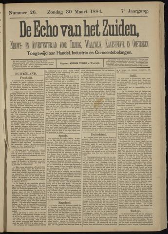 Echo van het Zuiden 1884-03-30