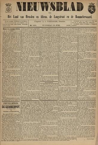 Nieuwsblad het land van Heusden en Altena de Langstraat en de Bommelerwaard 1895-06-19