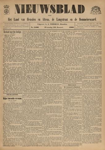 Nieuwsblad het land van Heusden en Altena de Langstraat en de Bommelerwaard 1906-01-24