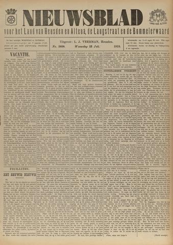 Nieuwsblad het land van Heusden en Altena de Langstraat en de Bommelerwaard 1919-07-23