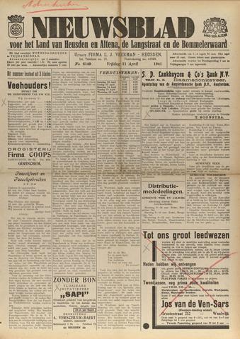 Nieuwsblad het land van Heusden en Altena de Langstraat en de Bommelerwaard 1941-04-11