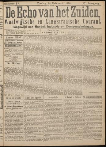 Echo van het Zuiden 1904-02-14
