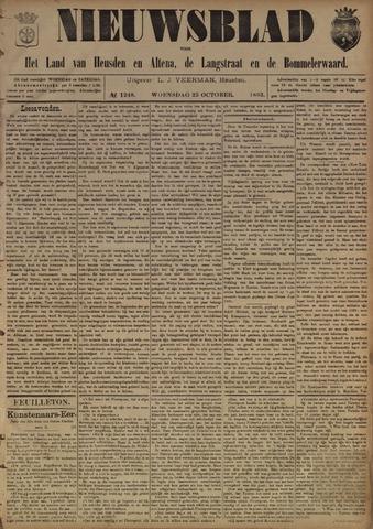 Nieuwsblad het land van Heusden en Altena de Langstraat en de Bommelerwaard 1893-10-25