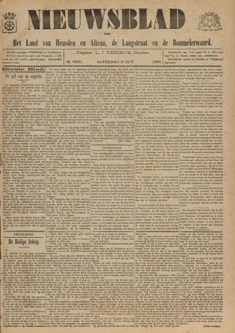 Nieuwsblad het land van Heusden en Altena de Langstraat en de Bommelerwaard 1903-10-03