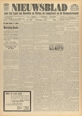 Nieuwsblad het land van Heusden en Altena de Langstraat en de Bommelerwaard 1934-09-05