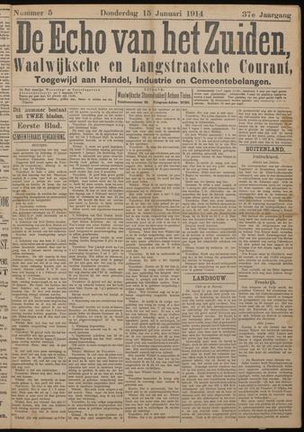 Echo van het Zuiden 1914-01-15
