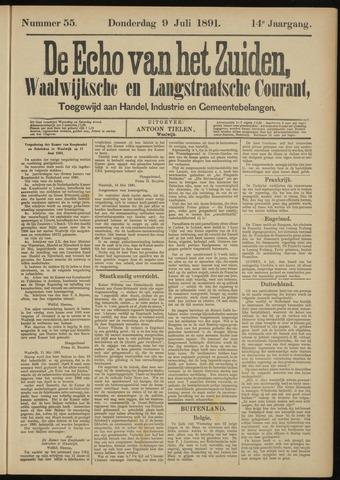 Echo van het Zuiden 1891-07-09