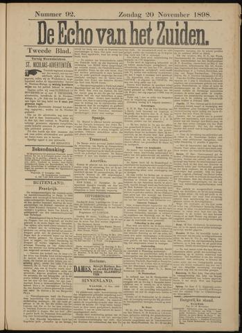 Echo van het Zuiden 1898-11-20
