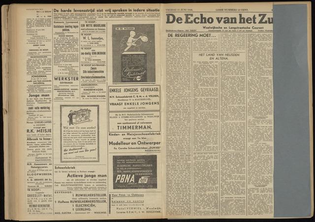 Echo van het Zuiden 1946-06-21