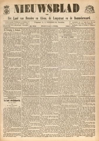 Nieuwsblad het land van Heusden en Altena de Langstraat en de Bommelerwaard 1905-02-08