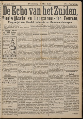 Echo van het Zuiden 1913-05-08