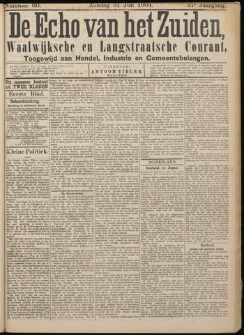 Echo van het Zuiden 1904-07-31