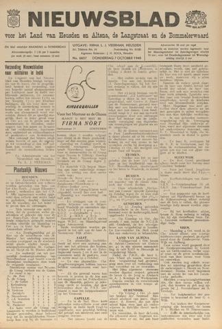 Nieuwsblad het land van Heusden en Altena de Langstraat en de Bommelerwaard 1948-10-07