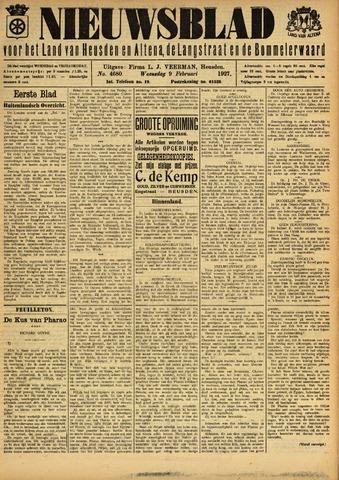 Nieuwsblad het land van Heusden en Altena de Langstraat en de Bommelerwaard 1927-02-09