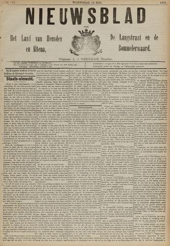 Nieuwsblad het land van Heusden en Altena de Langstraat en de Bommelerwaard 1891-05-13