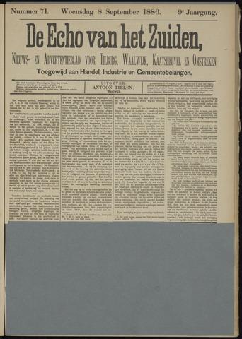 Echo van het Zuiden 1886-09-09