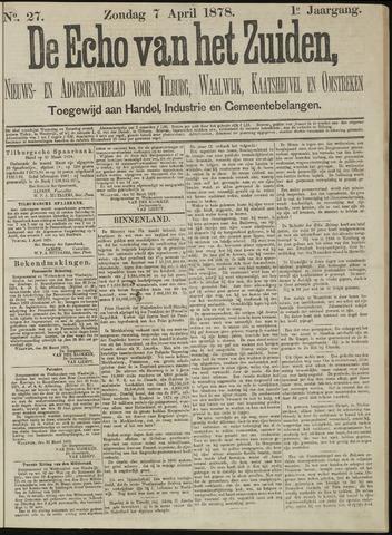 Echo van het Zuiden 1878-04-07