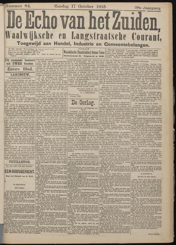 Echo van het Zuiden 1915-10-17