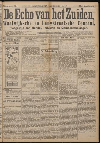 Echo van het Zuiden 1913-08-28