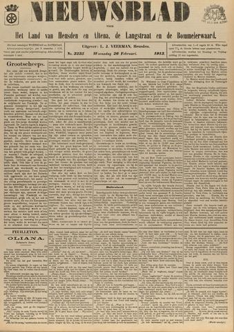 Nieuwsblad het land van Heusden en Altena de Langstraat en de Bommelerwaard 1913-02-26