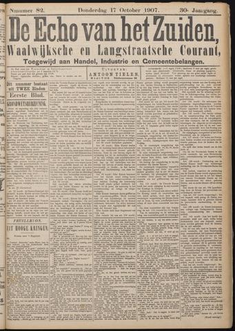 Echo van het Zuiden 1907-10-17