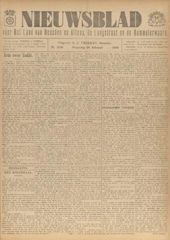 Nieuwsblad het land van Heusden en Altena de Langstraat en de Bommelerwaard 1918-02-20