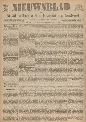 Nieuwsblad het land van Heusden en Altena de Langstraat en de Bommelerwaard 1897-10-13