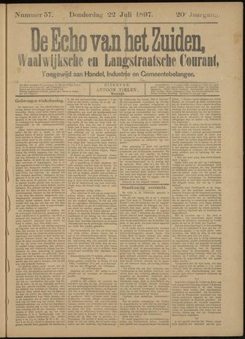 Echo van het Zuiden 1897-07-22