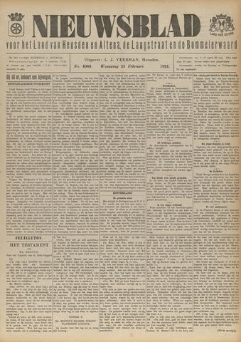 Nieuwsblad het land van Heusden en Altena de Langstraat en de Bommelerwaard 1921-02-23