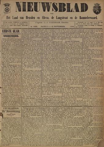 Nieuwsblad het land van Heusden en Altena de Langstraat en de Bommelerwaard 1893-11-11