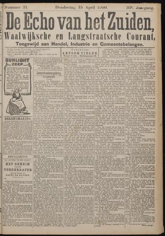 Echo van het Zuiden 1909-04-15