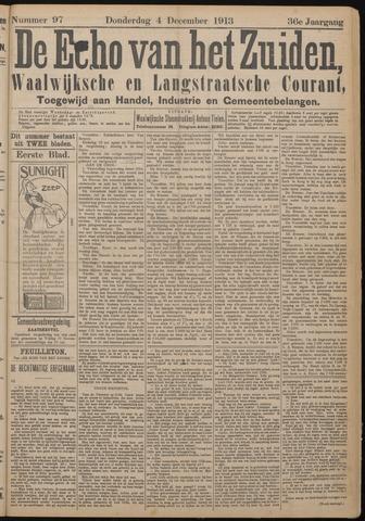 Echo van het Zuiden 1913-12-04