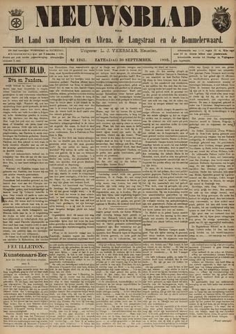 Nieuwsblad het land van Heusden en Altena de Langstraat en de Bommelerwaard 1893-09-30