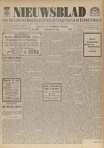 Nieuwsblad het land van Heusden en Altena de Langstraat en de Bommelerwaard 1919-06-21