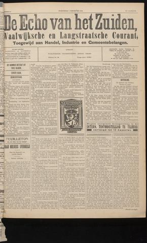 Echo van het Zuiden 1934-08-01