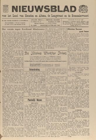 Nieuwsblad het land van Heusden en Altena de Langstraat en de Bommelerwaard 1949-02-14