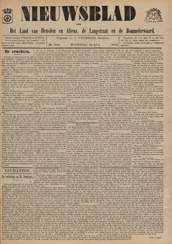 Nieuwsblad het land van Heusden en Altena de Langstraat en de Bommelerwaard 1899-08-16