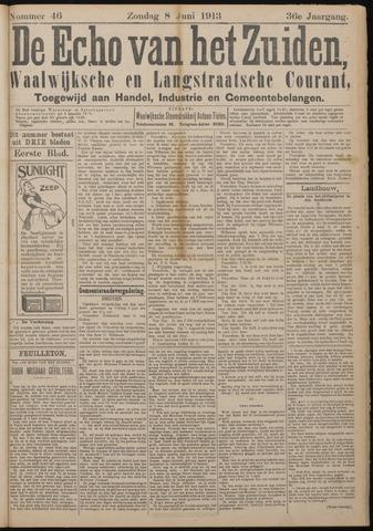 Echo van het Zuiden 1913-06-08