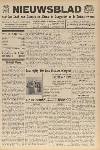 Nieuwsblad het land van Heusden en Altena de Langstraat en de Bommelerwaard 1948-11-25