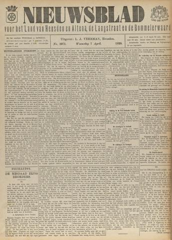 Nieuwsblad het land van Heusden en Altena de Langstraat en de Bommelerwaard 1920-04-07