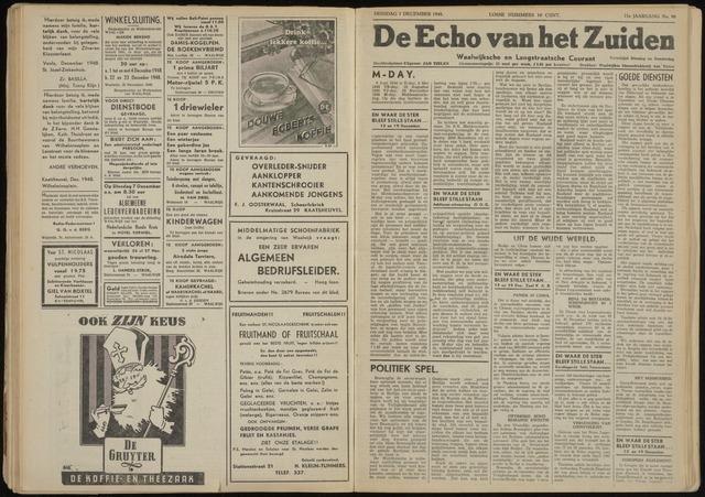 Echo van het Zuiden 1948-12-07