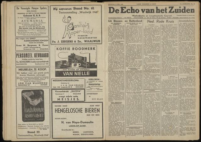 Echo van het Zuiden 1948-05-25