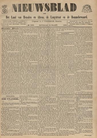 Nieuwsblad het land van Heusden en Altena de Langstraat en de Bommelerwaard 1903-03-14