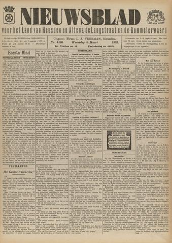 Nieuwsblad het land van Heusden en Altena de Langstraat en de Bommelerwaard 1925-03-04